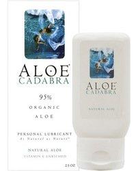 Aloe Cadabra naturel organique lubrifiant personnel - 2,5 oz