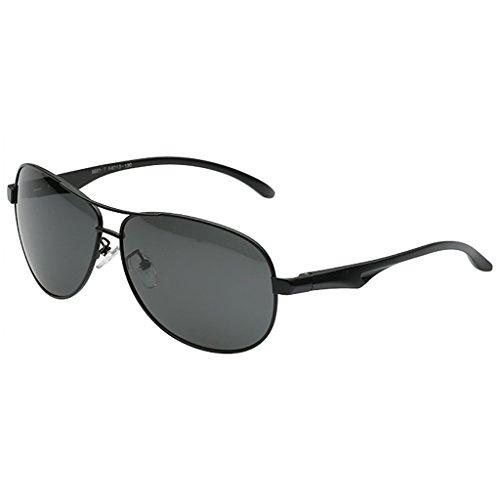 Primera de Gafas conducción B polarizado de protección de UV400 de para para Marco Aviador Color Metal Mujeres Calidad con Hombre piloto clásico A Sol x8ZSwXq4