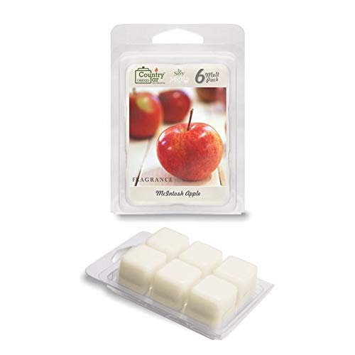 - Country Jar MCINTOSH Apple Soy Wax Melts/Tarts (2.75 oz. 6-Cube Pack) Spring Pick-3 Sale! See Details.