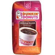 Dunkin' Donuts Original Blend, Medium Roast Whole Bean Coffee, 12 oz(Pack of 4) by Dunkin' Donuts