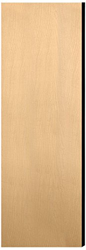 UPC 820996460523, Salsbury Industries 33335DE-MAP Double End Side Panel for 21-Inch Deep Designer Wood Locker without Sloping Hood, Maple Brown