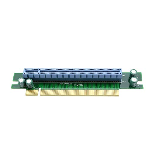 Cloverclover PCI-E Express 16X 90 Degree Adapter Riser Card For 1U Computer Server Chassis Digital Hot