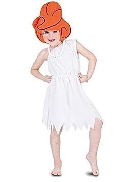 DISBACANAL Disfraz Vilma Picapiedra para niña - Único, 7-9 años