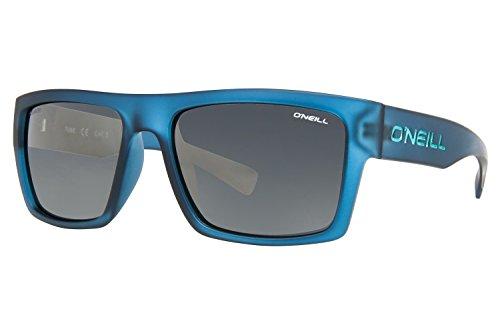 O'Neill Tube 105p Square Polarized Rectangular Sunglasses, Matte Blue, 56 - Glasses Oneil
