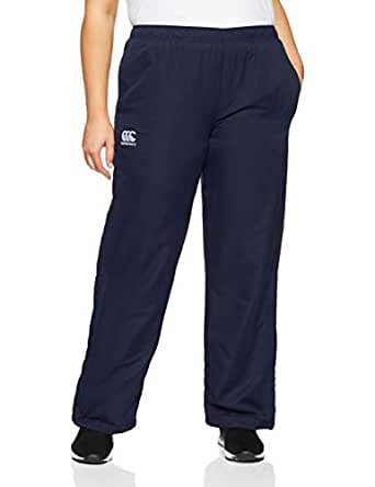canterbury Womens Team Plain Track Pant, Navy/White, 10