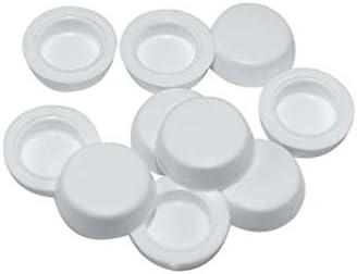 Abdeckkappe aus Kunststoff für Torx30 weiß ~RAL9010