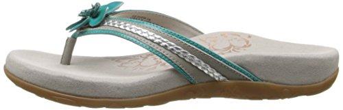 f9b3bacdbab Aetrex Women s Selena Flower Thong Sandal - Import It All
