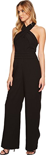 Adelyn Rae Women's Cindy Jumpsuit Black Small by Adelyn Rae (Image #1)