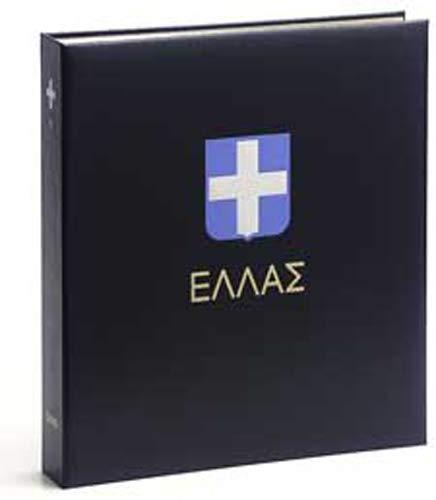 DAVO 5234 Luxus Briefmarken-Album Griechenland IV 1986-1999