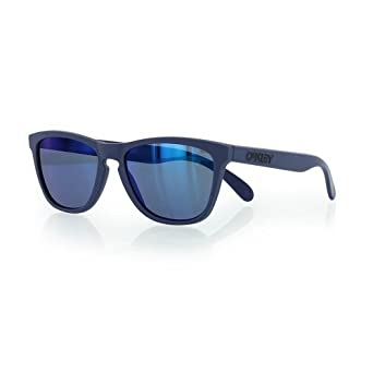 oakley blue  Amazon.com: Oakley Frogskins Summit Artisan Blue w/Blue Iridium ...