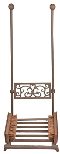 Esschert-Design-LH181-Boot-Scraper-Cast-Iron-Antique-Brown-Finish