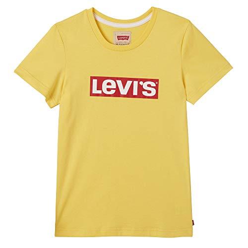 Kids Levi's Qahit T Shirt 73 Jaune Garçon Yellow Bright 8NPk0XnwOZ