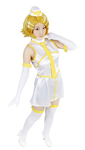 MILICA BOOKS Vocaloid Tricolore Air Line Kagamine Rin Cosplay Costume (Small) ()