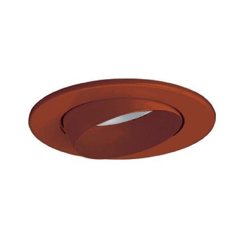 Line Voltage Eyeball Trim - Jesco Lighting TM5513ABAB 5-Inch Aperture Line Voltage Trim Recessed Light, Adjustable Eyeball, All Antique Bronze Finish by Jesco Lighting Group