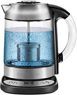 Chefman Electric Glass Digital Electric Tea Maker