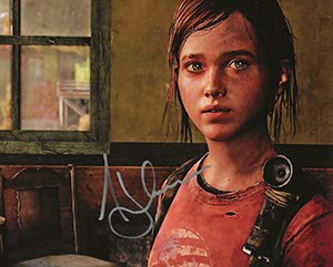 Voice Actress Ashley Johnson As Ellie Signed the Last of Us 8x10