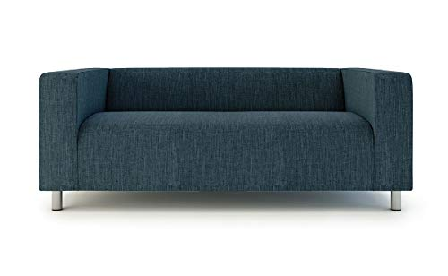- TLYESD Replace Cover for IKEA 2 Seater Klippan Loveseat Sofa,Polyester Fabric Slipcover