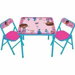 Doc mcstuffins erasable activity table and - Amazon bedroom chairs and stools ...