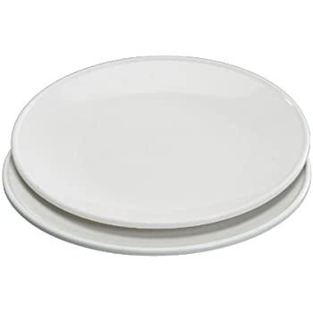Nordic Ware Set of 2 10 Inch Microwave Dinner Plates  sc 1 st  Amazon.com & Amazon.com | Microwave Safe Plates and Bowls 4 Piece Eco-Friendly ...