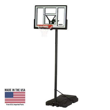 Lifetime Adjustable Portable Basketball Hoop (46-Inch Polycarbonate), 90584 -