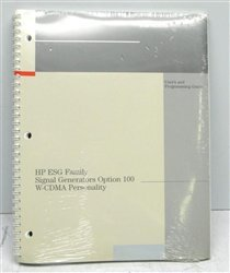 Hewlett Packard (HP) E4400-90329 Users and Programming Guide for ESG Family Signal Generators Opt. - Hp Manuals Users
