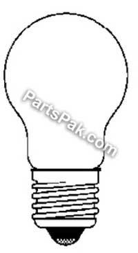 Ancor 532050 Marine Grade Electrical Light Bulb (Medium Screw/Standard Base, 24-Volt, 50-Watt, 2.08-Amp, 2-Pack)