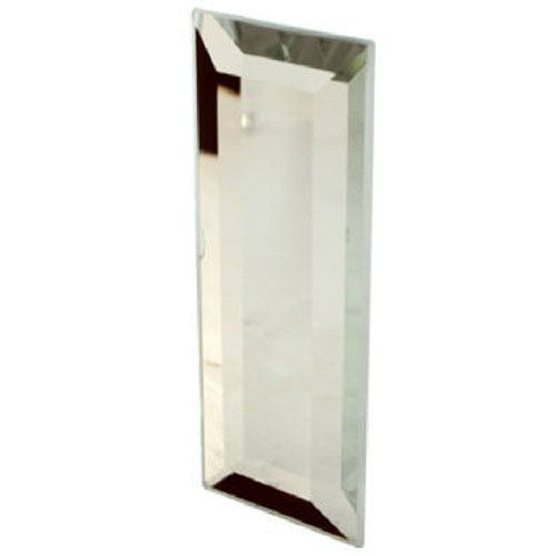 Slide-Co 161783 Mirror Door Glass Pull with Adhesive Back, 1-1/4 in. Wide x 3 in. Tall (Beveled Mirror Sliding Closet Door)
