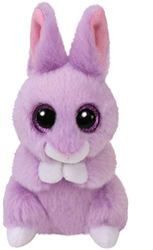 Amazon.com  Ty Basket Beanie Baby - April The Purple Bunny (3 inch ... 2193e5e234dc