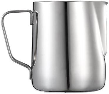 Harima – 350 ml acero inoxidable jarra de medición de jarra para ...