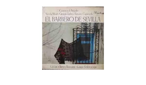 Antiguo Vinilo - Old Vinyl : EL BARBERO DE SEVILLA Gioacchino ...