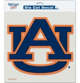 NCAA Auburn Tigers Die-Cut Color Decal, 8