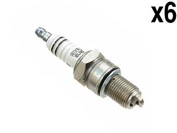BMW BAV (68 - 74) Bujía (7900) wr-7-dc + (X6) OEM Bosch encendido Plugs: Amazon.es: Coche y moto