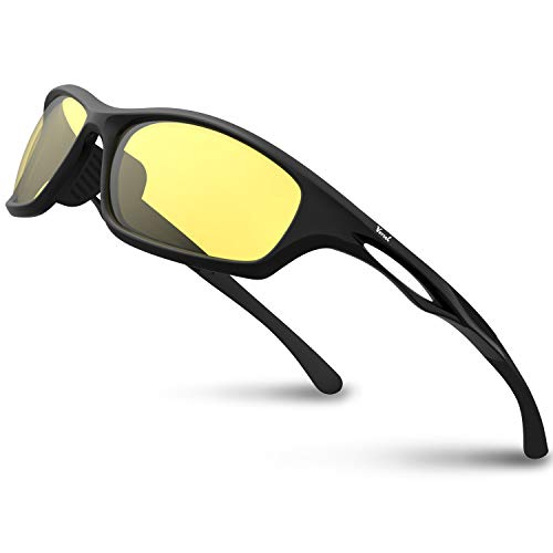712f8b85a5 Versol Polarized Sports Sunglasses for Men Women Cycling Running Driving  Fishing Golf Baseball Sunglasses Durable Frame