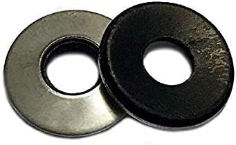 #12 EPDM Neoprene Rubber Bonded Sealing Washers, 18.8 Stainless Steel, 50 Quantity by Bridge Fasteners 31QrK2BoSuuL