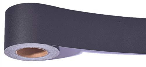 (Emoyi Black Wallpaper Border Stick and Peel for Kitchen Bathroom Tiles Sticker 10cmx10m)