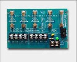 Altronix Phenolic or Fiberglass Power Dist Module 4 Output Fuse - PD4, (Pack of 2)