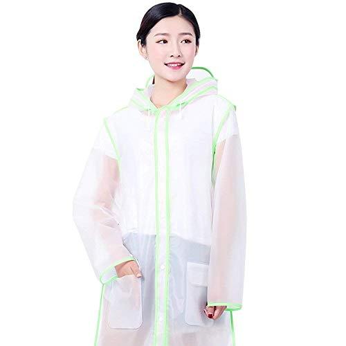 Hx Basic Chaquetas Adultos Lluvia Trekking Resistente Impermeable Aire Montañismo Libre Ropa Agua Poncho Impermeables Fashion Al Grün Portátil Para Transparente De Fuerte 8H0xTn8rgq