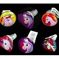 VIBGYOR PRODUCTS Blinking LED Cute Finger Rings with Cartoon Characters (Multicolour) -Set of 6 Pieces