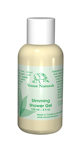 Venus Body Slimming Shower Gel with Pure Marine Algae Serum 4oz Bottle