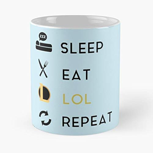 Sleep Eat Repeat Lol League Of Legends Game Gamer Games Gaming Best Gifts for Friends