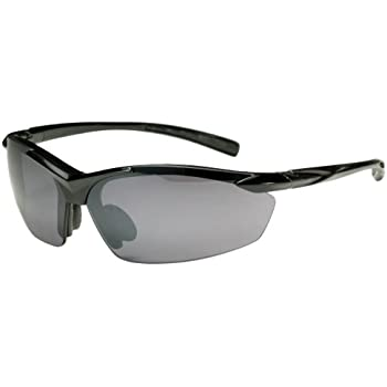 688944b996d3 Sports Wrap TR18 Sunglasses for Golf, Fishing, Cycling-Unbreakable (Black &  Smoke)