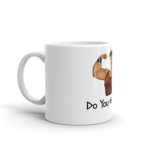 Disney Hercules Mug (Hercules Asks, Do You Even Lift? Mug 11 Oz White)