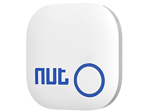 WESTLINK Smart Tag Nut 2 Bluetooth Anti-lost Tracker Wallet Key Finder Alarm Patch GPS Locator Finder(White)