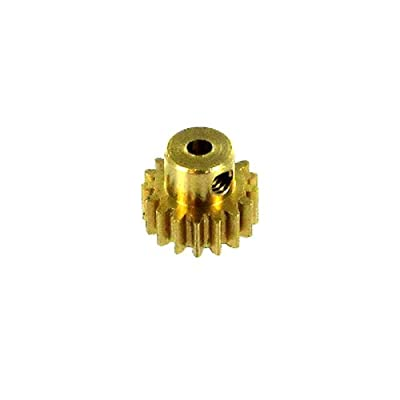 Redcat Racing 11177 Brass Pinion Gear: Toys & Games