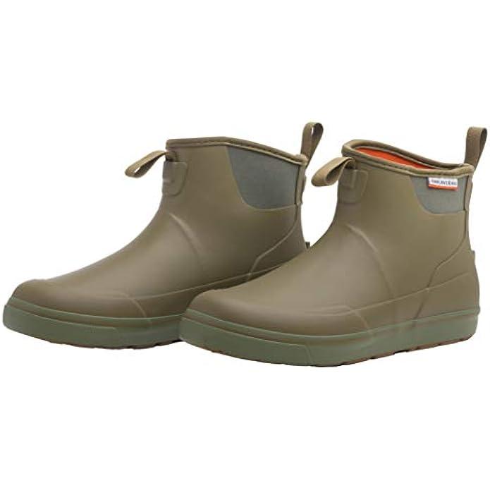 Grundens Men's DECK-BOSS Ankle Boot | Durable, Waterproof