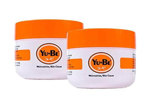 Amazon Com Yu Be Moisturizing Skin Cream Jar Duo Paraben Free Deeply Hydrating Moisturizer For Extra Dry Skin Healing And Non Greasy Skin Cream For Day Night 2 X 2 2 Fl Oz Premium