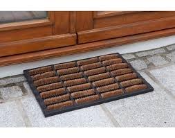 Outdoor External Rubber U0026 Coir Door Mat 75cm X 45cm. Allows Water To Drain  Away
