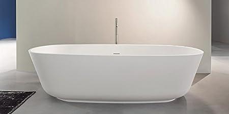 Antonio Lupi Baia Bathtubs oval bathtub BAIA OUTLET: Amazon.co.uk ...
