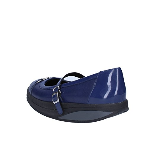 MBT Mujer zapatos con correa Azul