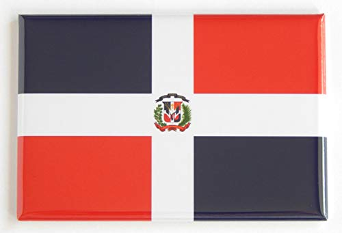 Flag of Dominican Republic Fridge Magnet (2 x 3 inches) ()